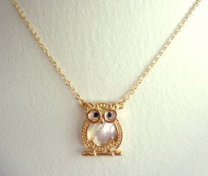 Coruja-D bijoux vr
