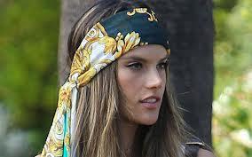 lenco na cabeca como usarvr bijoux inpiracao