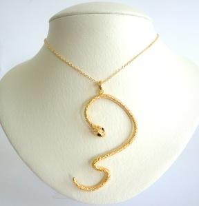 petit colar cobra vr bijoux acessorios