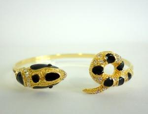 Snake-D pulseira bracelete cobra vr bijoux