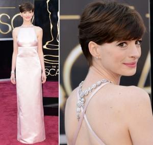 Anne-Hathaway colar costas vr bijoux tendencia oscar