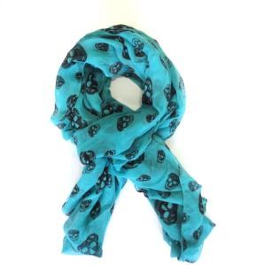 311-Lenço-Blue-Skull-VR-bijoux1