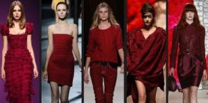 É tendência: burgundy!