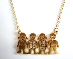 colar famille vr bijoux mae coruja