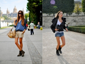 Shorts bota inspiracao blog