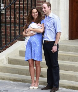 Kate Middleton o bebe real nasceu