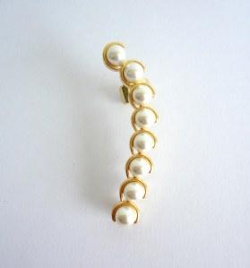 329 - Ear Cuff Pearl vr bijoux3