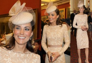 Kate-Middleton-Jubilee-McQueen-nude-lace-dress inspiracao