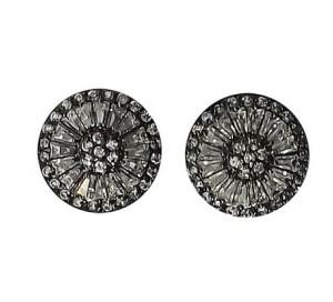 455 - brinco-pizza-grande-rodio-negro vr bijoux