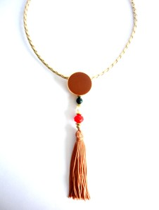 458 - colar tassel marrom vr bijoux1