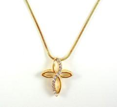 495 - colar religioso vr bijoux