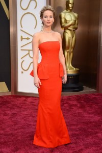 oscar 2014 Jennifer Lawrence.