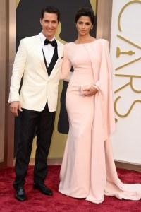 oscar 2014 Matthew McConaughey e Camila-Alves.