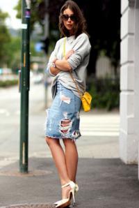 tendencia jeans rasgado outono inverno
