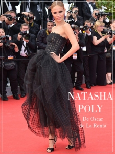 Natasha Poly cannes 2014