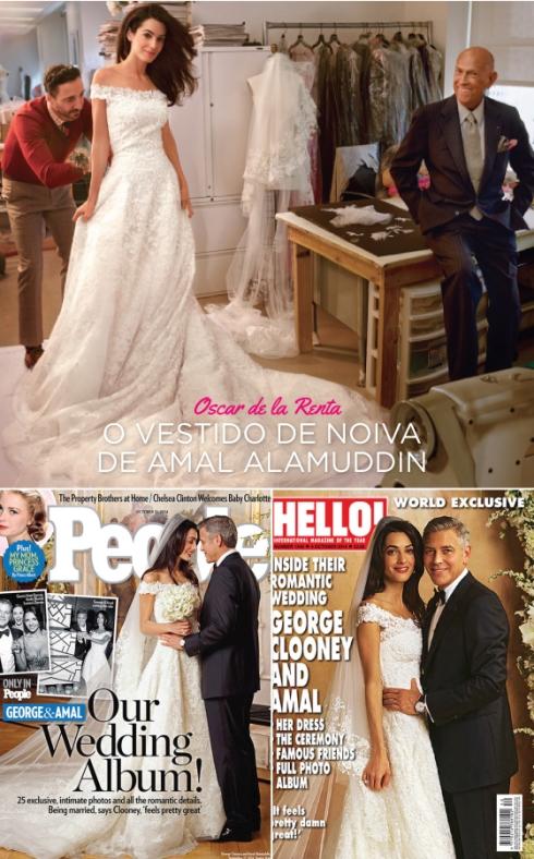 Amal Alamuddin George Clooney casamento