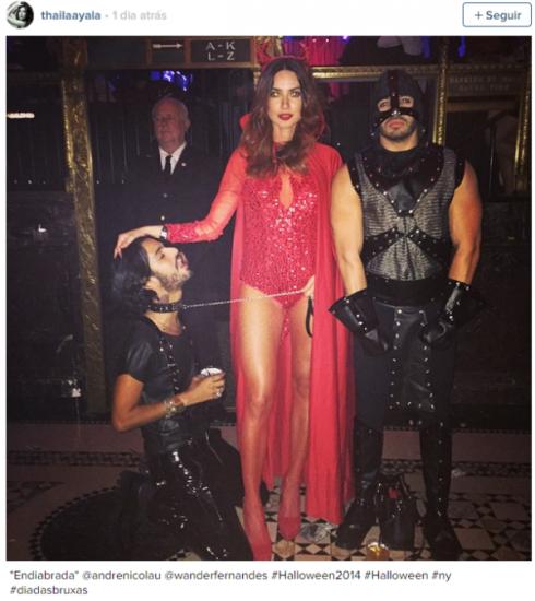instagram thayla  ayla halloween