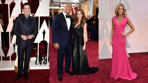 oscar30-John-Travolta-Dwayne-Johnson-Lauren-Hashian-Lara-Spencer1