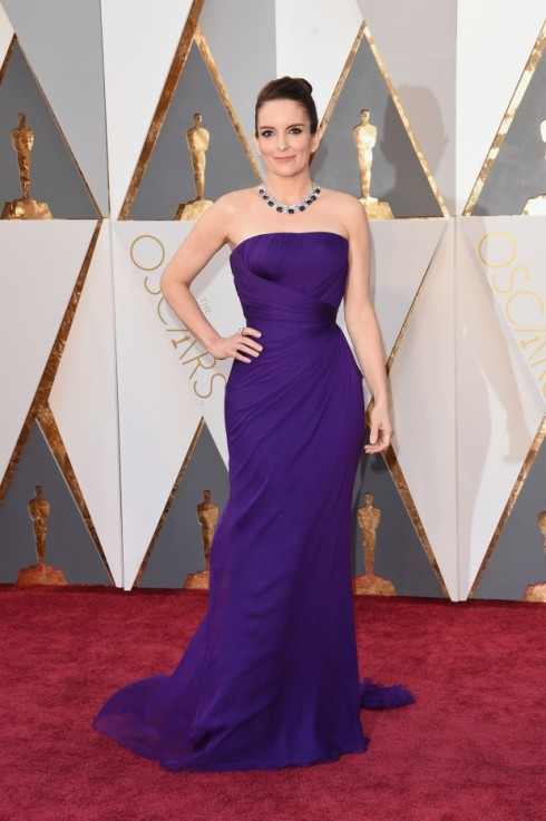 Tina Fey Oscar 2016 Blog VR Bijoux