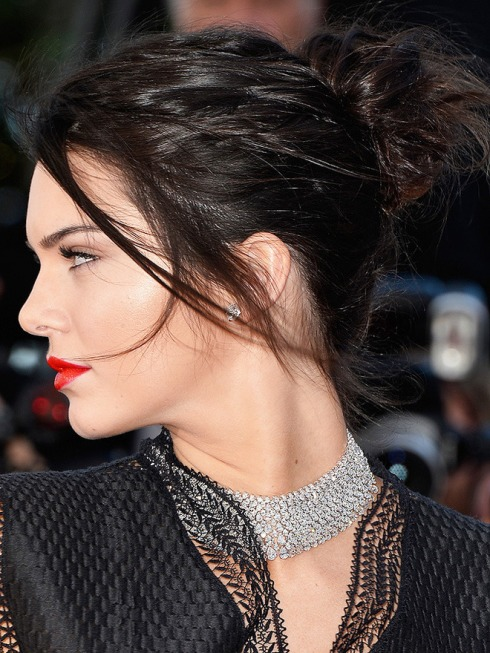 "CANNES, FRANCE - MAY 20: Model Kendall Jenner attends the ""Youth"" Premiere during the 68th annual Cannes Film Festival on May 20, 2015 in Cannes, France. (Photo by Pascal Le Segretain/Getty Images)"
